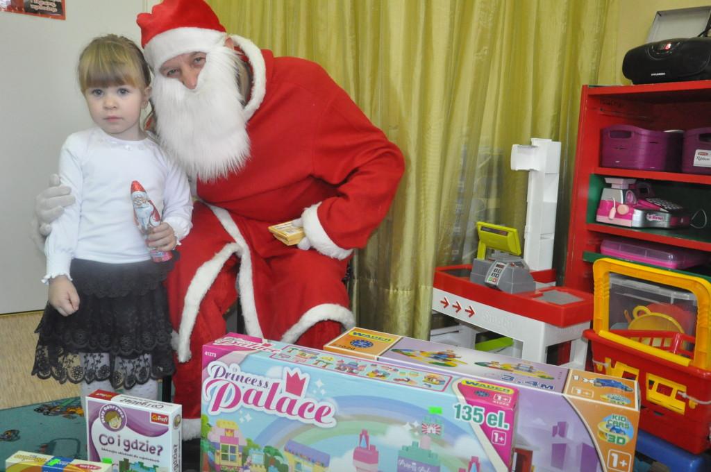 Wizyta Świętego Mikołaja w naszym przedszkolu