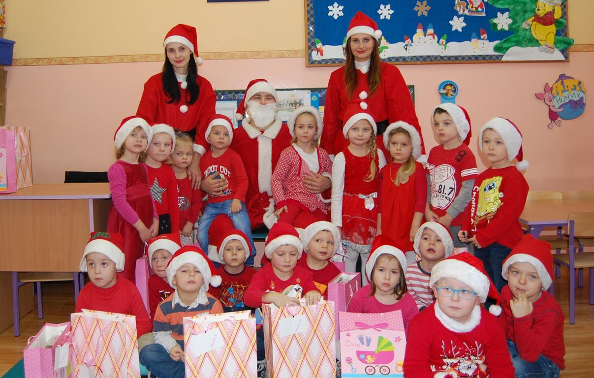 """Mikołaj w grupie ,,Tygryski"""""""