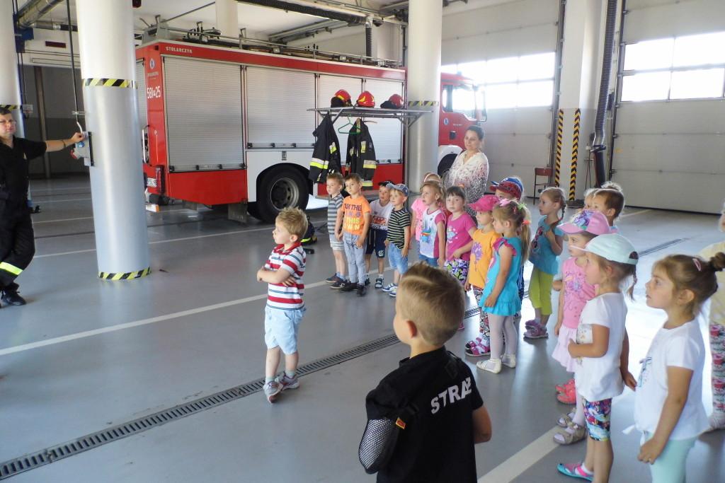 Wycieczka do Państwowej Straży Pożarnej w Słupcy