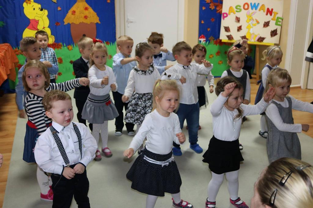 """Pasowanie na Przedszkolaka w grupie """"Króliczki"""""""