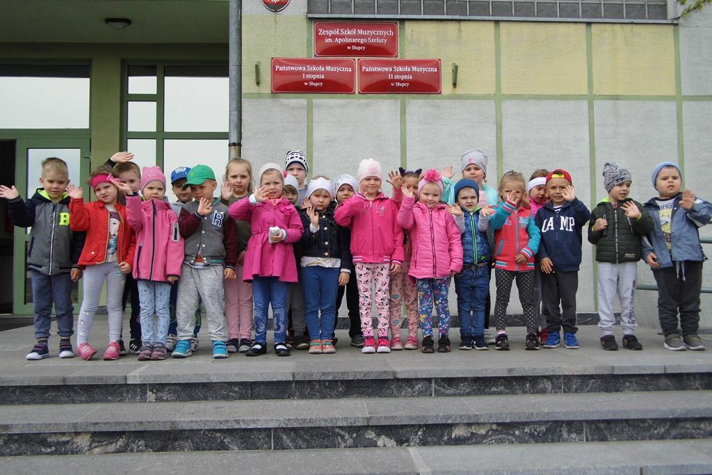 """""""Pszczółki"""" z wizytą w Szkole Muzycznej w Słupcy"""